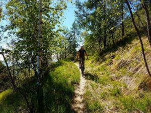 Mountain bike Valli di Lanzo strada vecchia Sant'ignazio