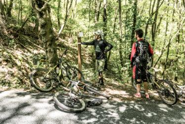 mountain bike fontana d'argento